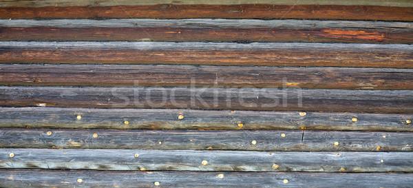 Wooden rotten wall Stock photo © pzaxe
