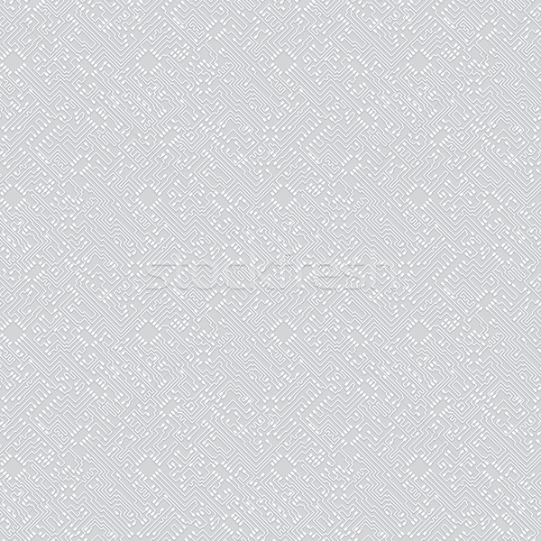Seamless pattern in technological hi-tech style. Vector backgrou Stock photo © pzaxe