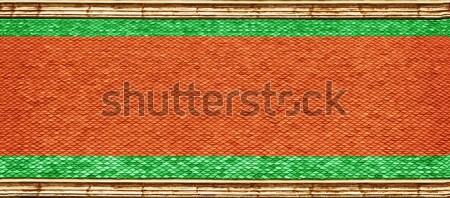 Stock fotó: Tető · buddhista · templom · kínai · textúra · absztrakt
