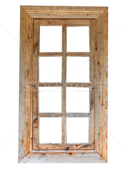 Wooden window Stock photo © pzaxe