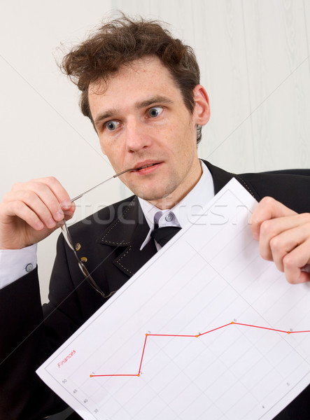 Problem with the finance Stock photo © pzaxe