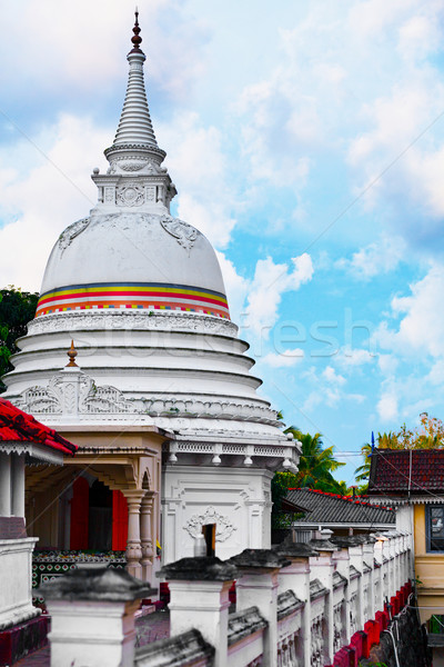 Kande Viharaya Temple in Bentota, Sri Lanka Stock photo © pzaxe