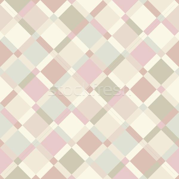 Vettore geometrica pastello colore moderno Foto d'archivio © pzaxe
