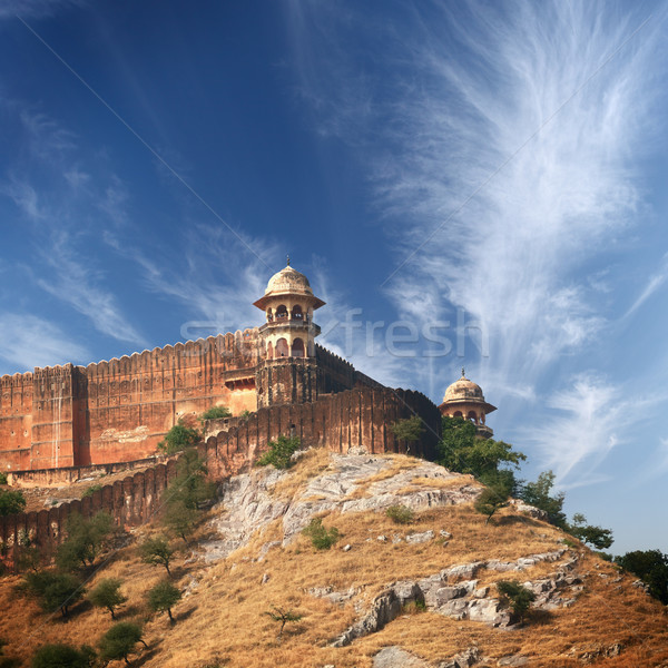 Ambra fort Hill India vecchio indian Foto d'archivio © pzaxe