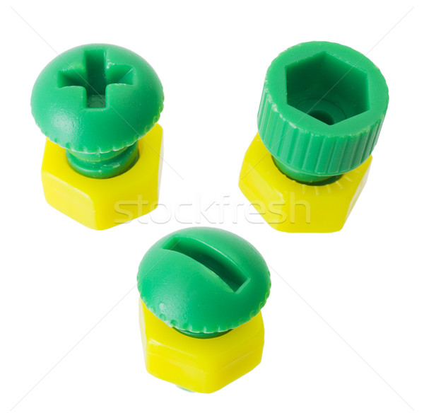 Nut and bolt Stock photo © pzaxe