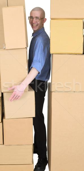 Courier Stock photo © pzaxe