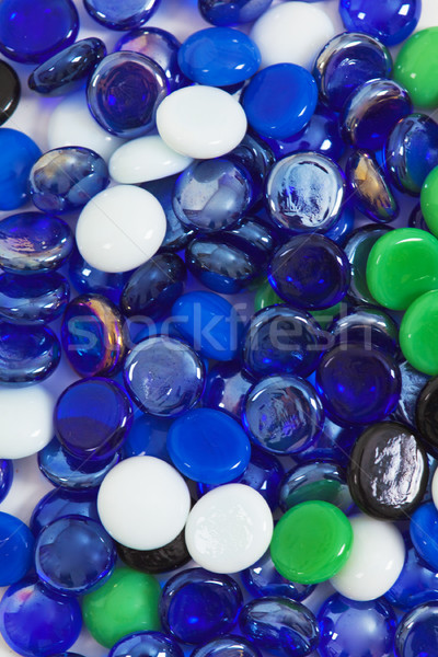 Background from multi-colored glass stones Stock photo © pzaxe