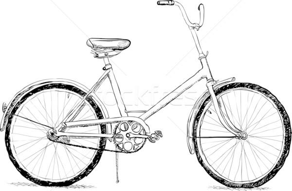 古い 自転車 ベクトル eps8 単純な スポーツ ストックフォト © pzaxe