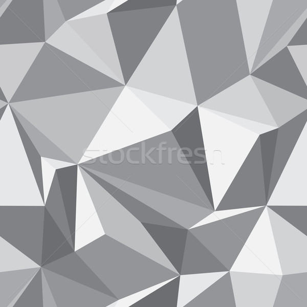 Abstract naadloos textuur vector grijs eps8 Stockfoto © pzaxe