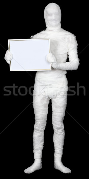 Mummy with frame Stock photo © pzaxe