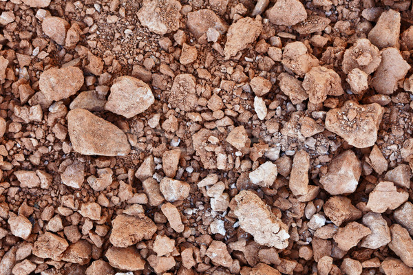 Clay lumps - material of the pottery industry Stock photo © pzaxe