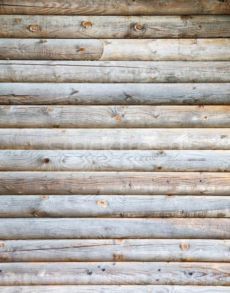 Wooden wall Stock photo © pzaxe