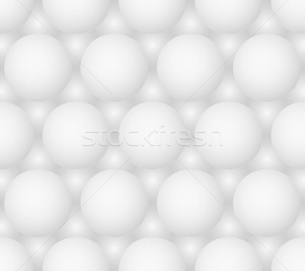 Abstract gray bubbles vector seamless hexagonal pattern Stock photo © pzaxe