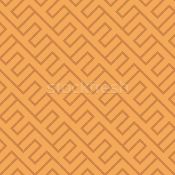 бесшовный Vintage геометрическим рисунком этнических вектора диагональ Сток-фото © pzaxe