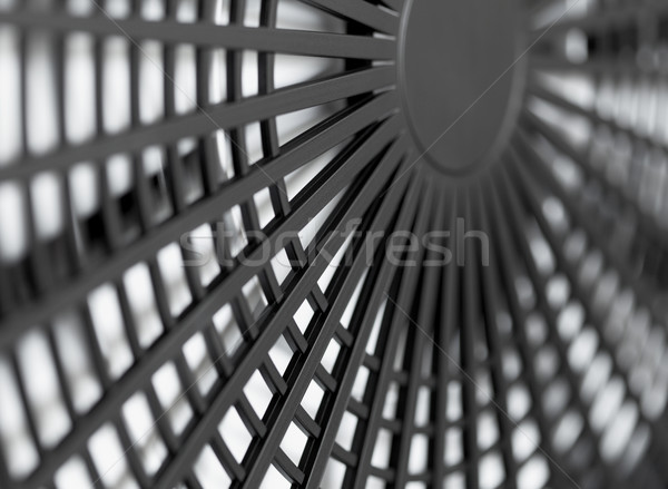 Large industrial fan close-up Stock photo © pzaxe