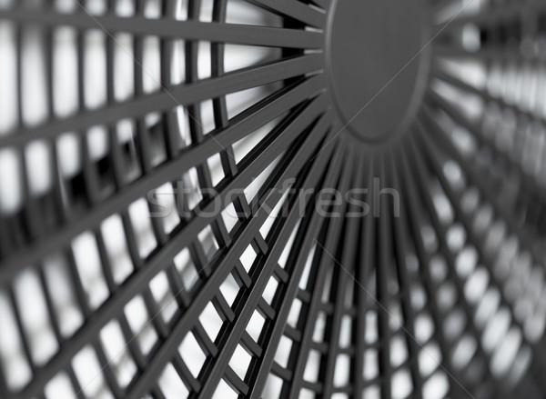 Nagy ipari ventillátor közelkép számítógép építkezés Stock fotó © pzaxe