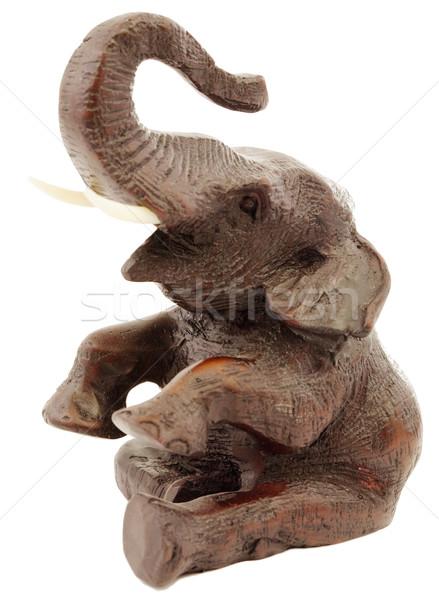 Statuette of elephant Stock photo © pzaxe