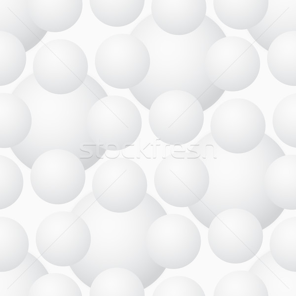 Vector seamless pattern - geometric volume modern background Stock photo © pzaxe