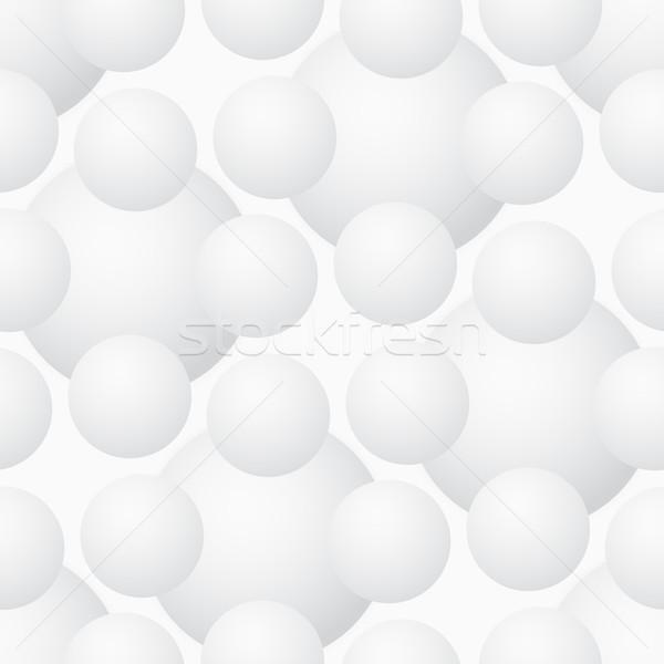 Vektör geometrik hacim modern gri Stok fotoğraf © pzaxe