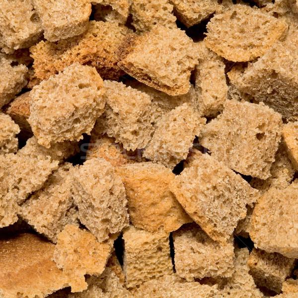 Rye crackers background Stock photo © pzaxe