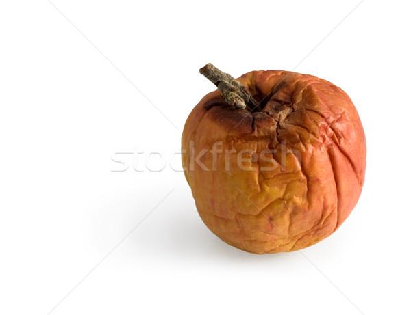 Podre maçã nojento branco fruto jardim Foto stock © pzaxe