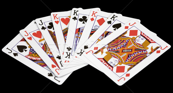 Card jacks and kings Stock photo © pzaxe