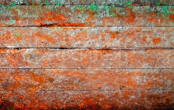 Very old rotten boards - background in style of a retro Stock photo © pzaxe