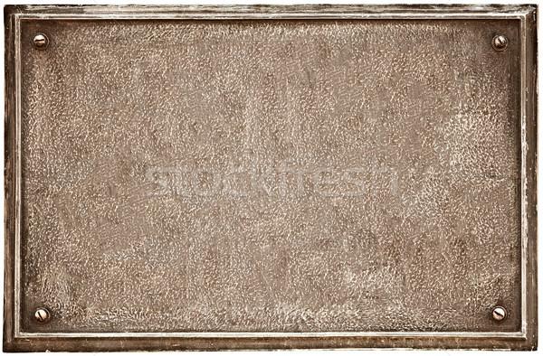 öreg fogkő fehér fal absztrakt felirat Stock fotó © pzaxe
