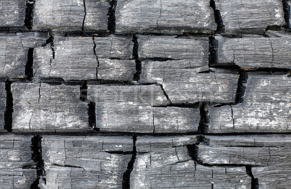 Surface of the charred wall Stock photo © pzaxe