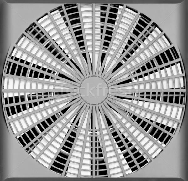 Industrial ventilação ventilador turbina tecnologia preto Foto stock © pzaxe
