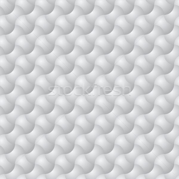 Diagonale abstract vettore sferico elementi grigio Foto d'archivio © pzaxe