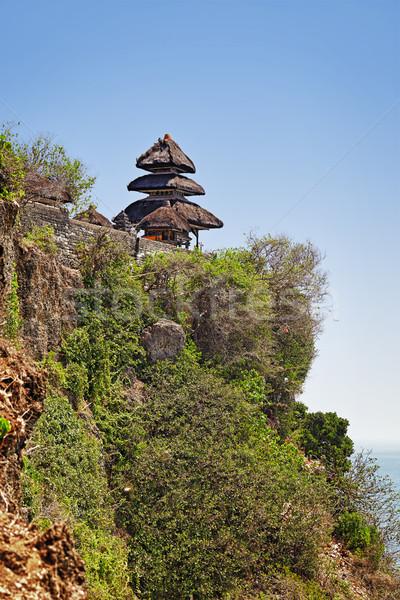 Temple complexe bali Indonésie Rock au-dessus Photo stock © pzaxe