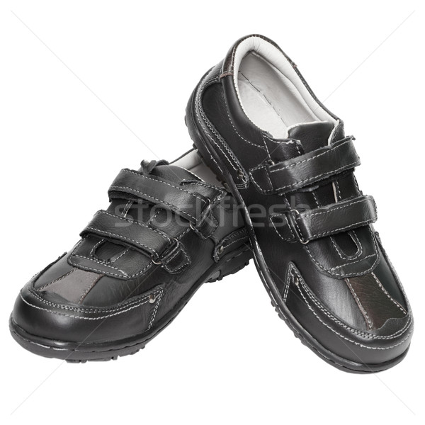 Men's shoes are made ​​of artificial leather Stock photo © pzaxe
