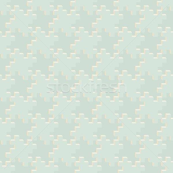 Abstract geometric pattern of pale tones - seamless texture Stock photo © pzaxe