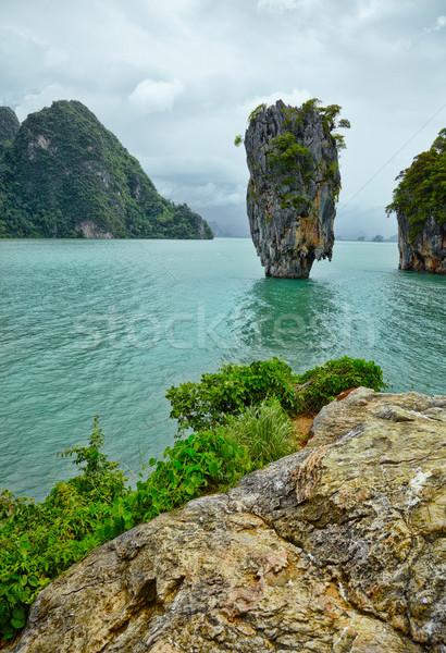 Egzotik ada phuket Tayland sahil plaj Stok fotoğraf © pzaxe