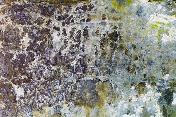 Idő víz elpusztított fal szél kőfal Stock fotó © pzaxe
