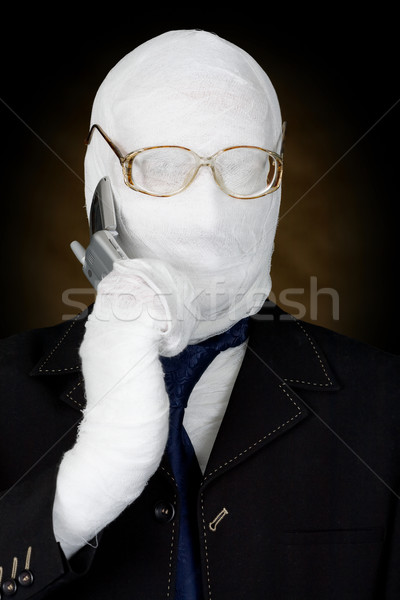 Mummy-businessman Stock photo © pzaxe