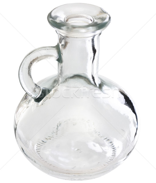 A transparent glass carafe Stock photo © pzaxe