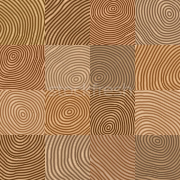 Abstract simple geometric wooden like vector pattern -  backgrou Stock photo © pzaxe