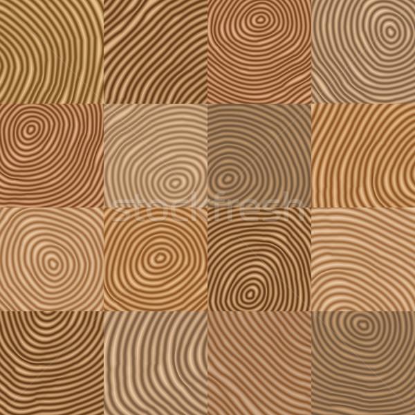 Absztrakt egyszerű mértani fából készült ahogy vektor Stock fotó © pzaxe