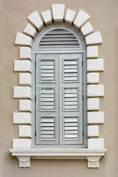 Architectural element - Renaissance style window Stock photo © pzaxe
