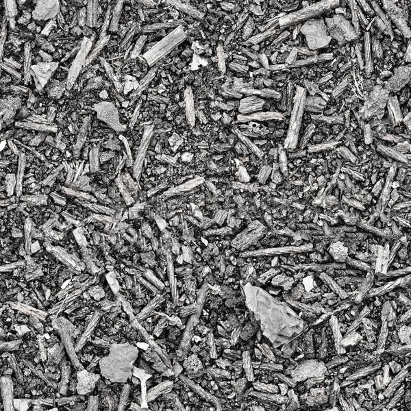 Seamless texture - slag and ash Stock photo © pzaxe