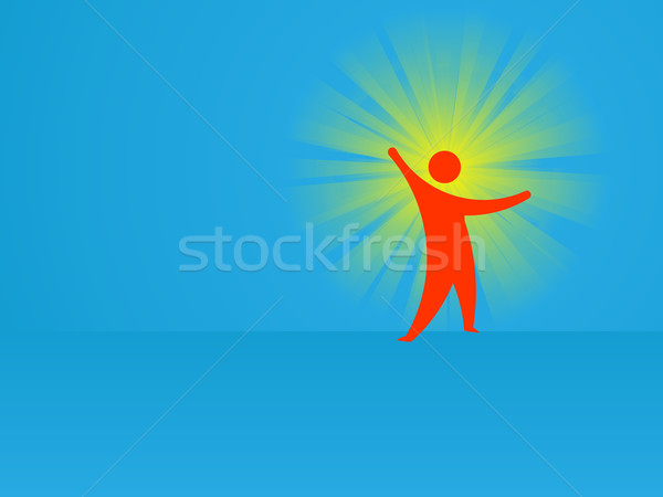Idea - conceptual abstract vector illustration Stock photo © pzaxe