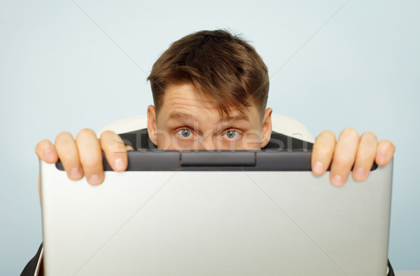 Accountant fear tax audit Stock photo © pzaxe