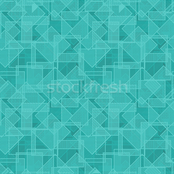 Vector texture - randomly repeated squares Stock photo © pzaxe