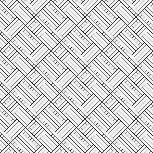 Vector gray seamless abstract flooring pattern Stock photo © pzaxe