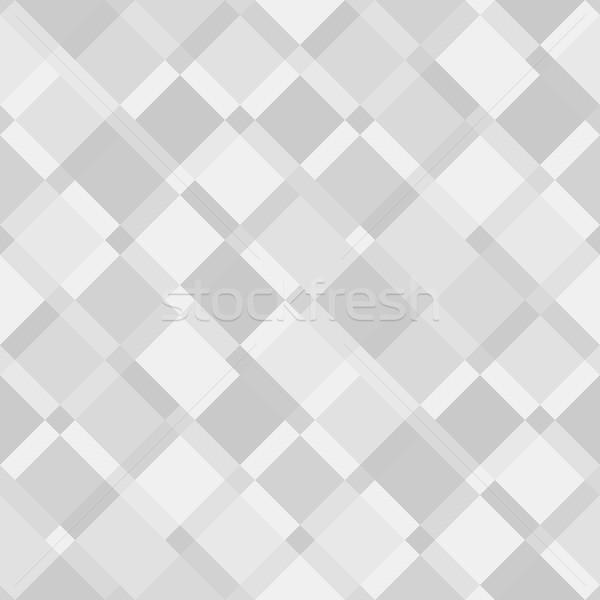 Vector seamless pattern - geometric modern diagonal floor textur Stock photo © pzaxe