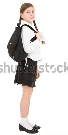 Schoolgirl Stock photo © pzaxe
