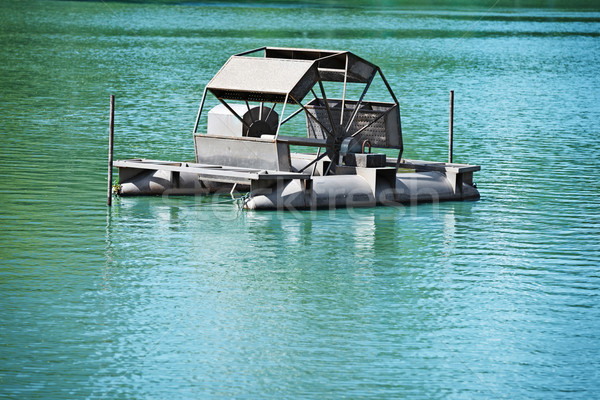 Bangkok schone Blauw meer water Thailand Stockfoto © pzaxe