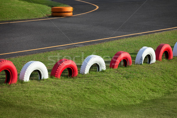 Racing track for karting Stock photo © pzaxe